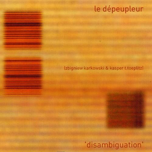 Zbigniew Karkowski & Kaper Toeplitz (Le Dépeupleur) –...