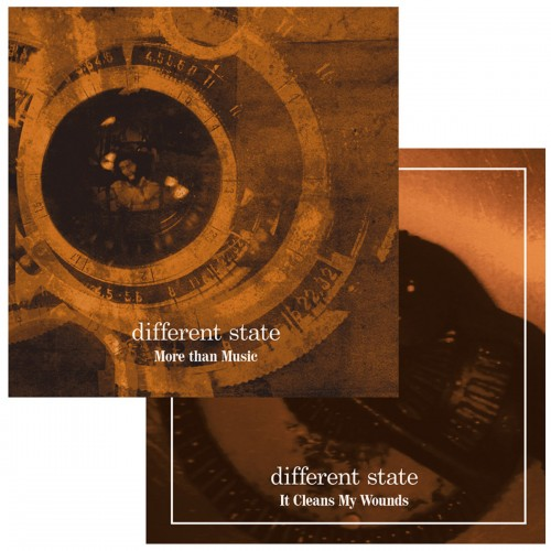 DIFFERENT STATE More than Music/It Cleans My Wound 2CD