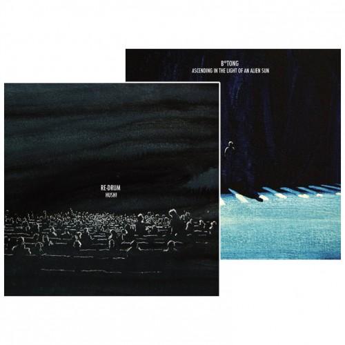 RE-DRUM / B°TONG - split CD