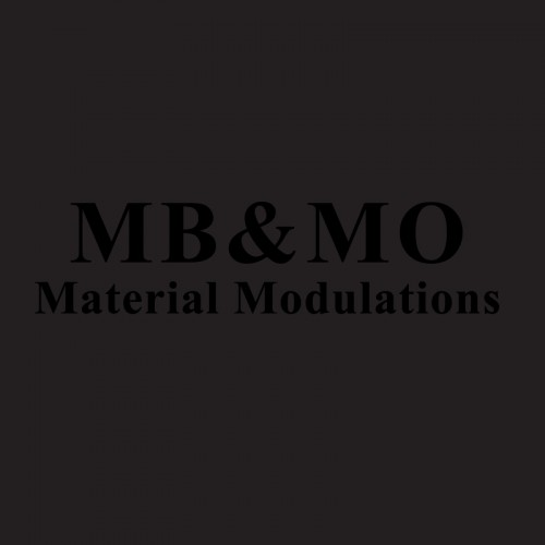 (Maurizio Bianchi) MB & MO - Material Modulations CD