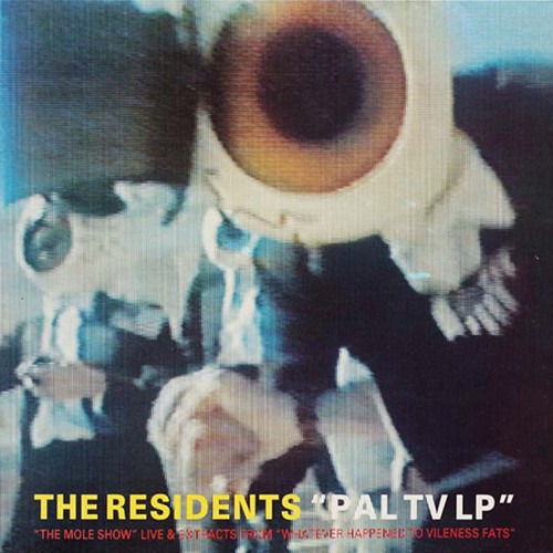 THE RESIDENTS – PAL TV CD
