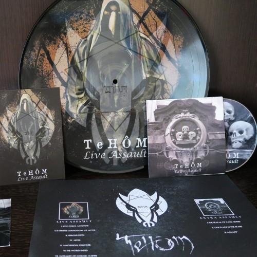 TEHOM - Live Assult LP+CD