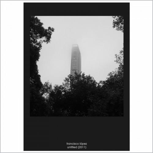Francisco Lopez - Untitled (2011) CD