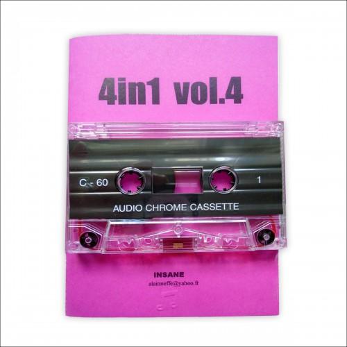 V/A - 4IN1 vol. 4 (BeNe GeSSeRiT, M.A.L., ALICE JUST,...