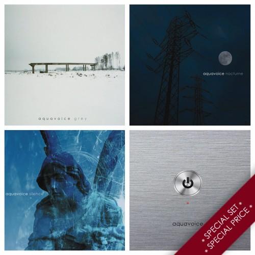 AQUAVOICE - 4 albums SET