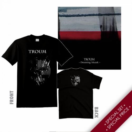 "TROUM - Special Set: ""Dreaming Muzak"" CD + T-shirt"