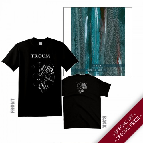 """TROUM - Special Set: """"Autopoiesis / Nahtscato"""" CD + T-shirt"""