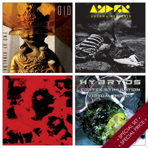 4CDs SPECIAL PRE-ORDER SET:  DID, SPHYXION, HYBRYDS, ANDER