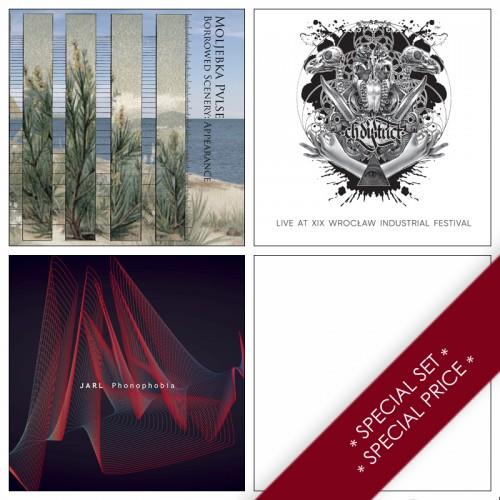 3CDs SPECIAL PRE-ORDER SET:  C.H. DISTRICT, JARL,...